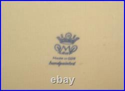 14 Rare Pmp Antique 1817 Von Schierholz Germany Kpm Porcelain Bowl Centerpiece