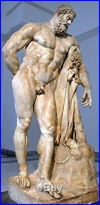 1920s KPM Berlin Herakles Hercules Porcelain Figure Figurine