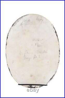 19th century KPM Porcelain Plaque of a Sistine Madonna withChild