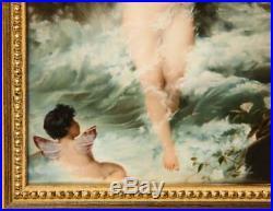 An Exceptional Quality Berlin K. P. M Porcelain Plaque Venus and Cupids