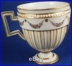 Antique 18thC German Porcelain Louis XVI Portrait Cup Porzellan Tasse Germany