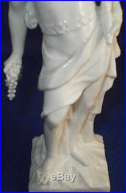 Antique 18thC KPM Berlin Pluto Porcelain Figurine Porzellan Figur Figure God