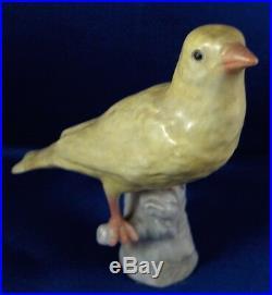 Antique 18thC KPM Berlin Porcelain Canary Bird Figurine Figure Porzellan Figur