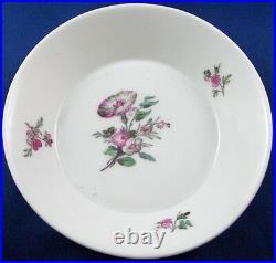 Antique 18thC KPM Berlin Porcelain Floral Cup & Saucer Porzellan Tasse German