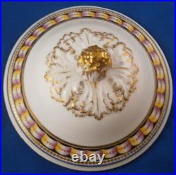 Antique 18thC KPM Berlin Porcelain Scenic Tureen Terrine Porzellan Dish Lidded
