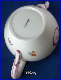 Antique 18thC KPM Berlin Porcelain Tea Pot Porzellan Tee Kanne Teapot Teekanne