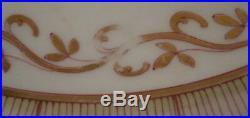 Antique 1903 KPM Berlin Porcelain Damaskus Service Dinner Plate Porzellan Teller