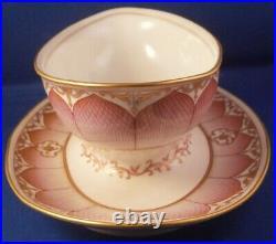 Antique 1905 KPM Berlin Porcelain Damaskus Service Serving Dish Porzellan Schale