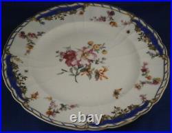 Antique 19tC KPM Berlin Porcelain Plate Breslauer Stdadtschloss Porzellan Teller