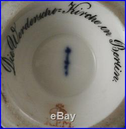 Antique 19thC 1832 KPM Berlin Porcelain Scenic Cup Porzellan Tasse Scene German