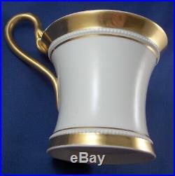 Antique 19thC KPM Berlin Porcelain Lithophane Cup & Saucer Plate Porzellan Tasse