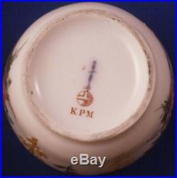 Antique 20thC KPM Berlin Porcelain Neuzierat Sugar Dish Porzellan Zuckerdose