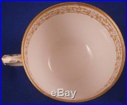 Antique 20thC KPM Berlin Porcelain Neuzierat Tea Cup & Saucer Porzellan Tasse