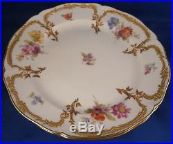 Antique 6 KPM Berlin Porcelain Neuzierat Plate s Porzellan Teller Raisd Gold