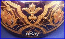 Antique Amazing Art Nouveau KPM Berlin Porcelain Jewelled Box Porzellan Dose