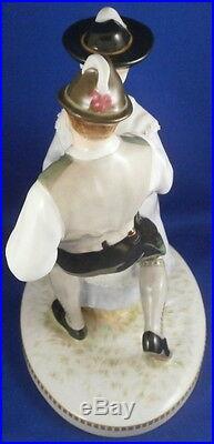 Antique Art Nouveau KPM Berlin Porcelain Dancers Figurine Figure Porzellan Figur