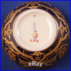 Antique Art Nouveau KPM Berlin Porcelain Jewelled Box Porzellan Dose German