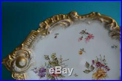 Antique Art Nouveau Limoges France Porcelain Dish Bowl Porzellanschale