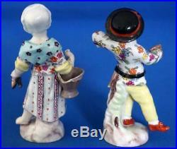 Antique Berlin KPM Porcelain Figure Pair