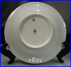 Antique Berlin Porcelain Floral Cup & Saucer 50712