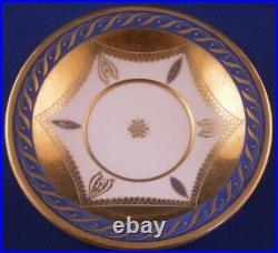 Antique Early 19thC KPM Berlin Porcelain Biedermeier Saucer Porzellan Untertasse