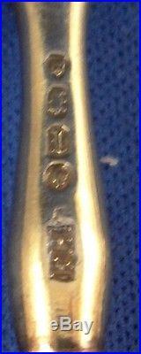 Antique Fuerstenberg Porcelain Knife & Fork Porzellan Messer & Gabel Furstenberg