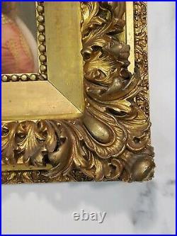 Antique German PORCELAIN PLAQUE Hutschenreuther KPM Hand Painted