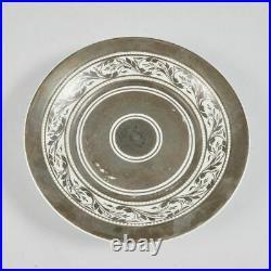 Antique Germany Berlin KPM Porcelain Bone China Cup and Saucer XIXc