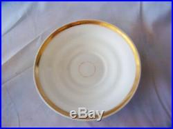 Antique HP Porcelain KPM Cup w German Location & Matching Saucer