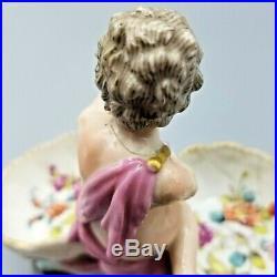Antique Helena Wolfsohn Dresden Rococo Figural Porcelain Kpm But Meissen Ar Neat