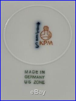Antique KPM Arcadia Dinnerware Royal Berlin-93 pcs Dishes Porcelain China Set