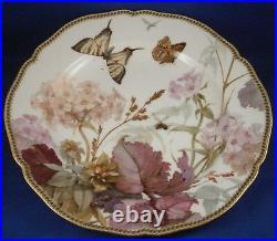 Antique KPM Berlin Art Nouveau Porcelain Weichmalerei Plate Porzellan Teller #2