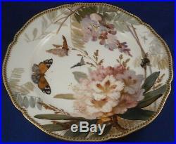 Antique KPM Berlin Art Nouveau Porcelain Weichmalerei Plate Porzellan Teller #5