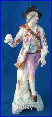 Antique KPM Berlin Continental German Porcelain Figure with Fox