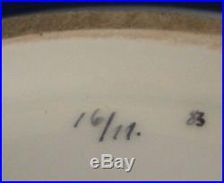Antique KPM Berlin Neuzierat Art Nouveau Porcelain Dish Bowl Porzellan Schale