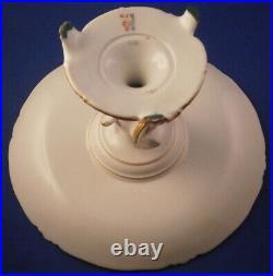 Antique KPM Berlin Neuzierat Porcelain Cake Plate Pedestal Dish Porzellan Tazza