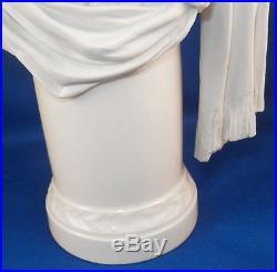 Antique KPM Berlin Porcelain Bust Figurine Figure Porzellan Bueste Figur