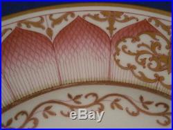Antique KPM Berlin Porcelain Damaskus Service Dinner Plate Porzellan Teller