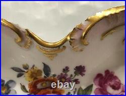 Antique KPM Berlin Porcelain Floral Dresser/Inkwell & Tray Set Porzellan