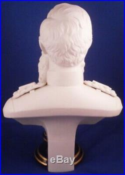Antique KPM Berlin Porcelain Kaiser Bust Figurine Figure Porzellan Büste Figur