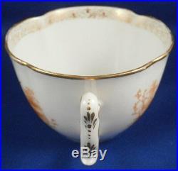 Antique KPM Berlin Porcelain Orange Scene Scenic Cup & Saucer Porzellan Tasse