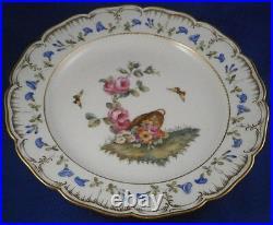 Antique KPM Berlin Porcelain Plate Kaiser Royalty Mark Porzellan Teller King