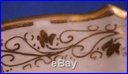 Antique KPM Berlin Porcelain Plate Kaiser Wilhelm II Royalty Porzellan Teller