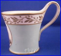 Antique KPM Berlin Porcelain Scenic Biedermeier Cup & Saucer Porzellan Tasse