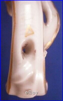 Antique KPM Berlin Scenic Egg Porcelain Tea Caddy Jar Porzellan Teedose Vase