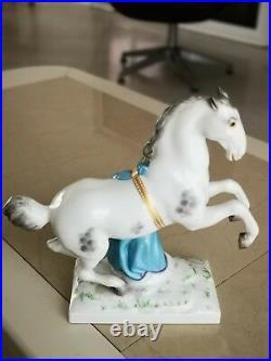 Antique KPM Berlin porcelain horse figurine statue pferd porzellan