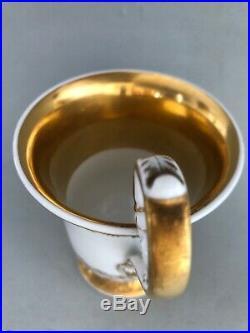 Antique KPM Cup Porcelain Meissen Cup Die Abtei in Buchwald