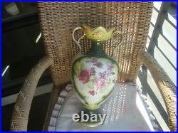 Antique KPM Germany Large Flours Porcelain Vase