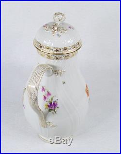 Antique KPM Germany Teapot Coffee Pot 19th century