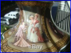 Antique KPM Limoges Royal Vienna Sevres Porcelain Vase
